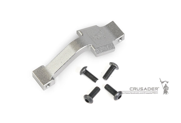 Tactical Crusader Extended Trigger Guard for M4 GBB (Silver)