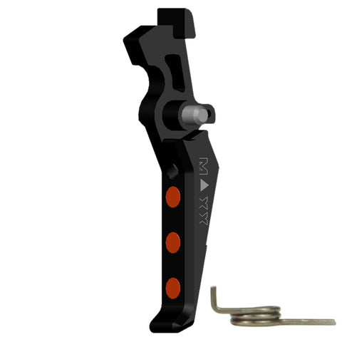 MAXX CNC Aluminum Advanced AEG Trigger (Style E) (Black)