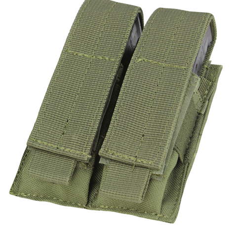 Condor MA23: Double Pistol Mag Pouch (Black / Tan / OD Green)