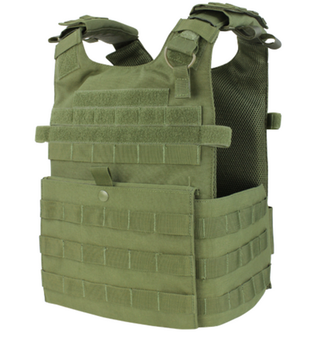 Condor 201039: Gunner Lightweight Plate Carrier(Black/Tan/OD Green)