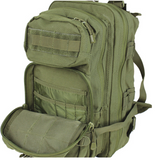 Condor 126: Compact Assault Pack (Black/Tan/OD Green)