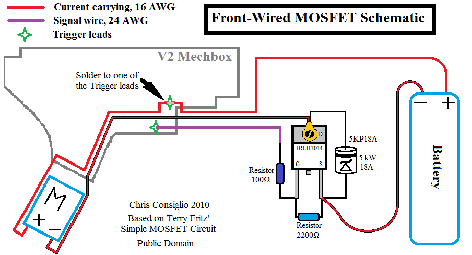 [DIAGRAM_38IS]  BCA 3034 Mosfet Unit for V2 In-Gearbox (Made-to-Order) – BlackBlitzAirsoft  GST: 798483699rt00001 | Airsoft Wiring Diagram |  | Blackblitz Airsoft