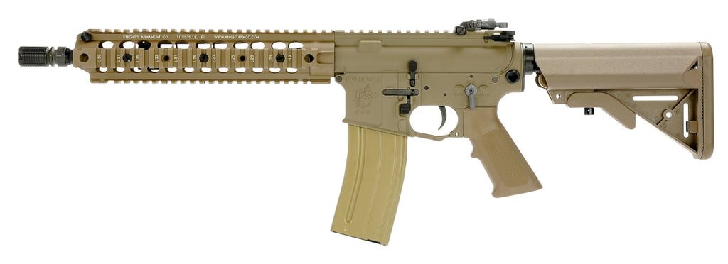 VFC AVALON KAC SR16 CQB AEG (Black / Tan) (Full Knight's Armament Trademark)