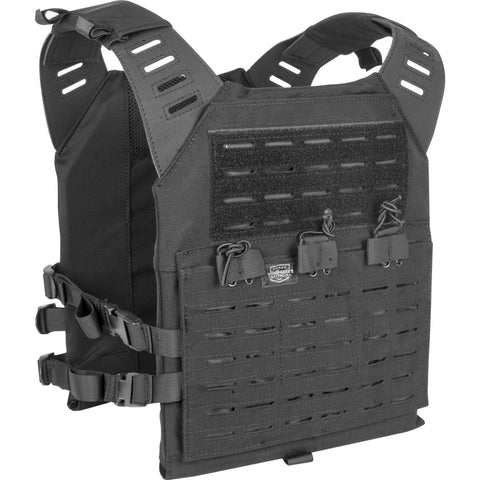 Valken LC Plate Carrier XL  (Black /Tan / Green)