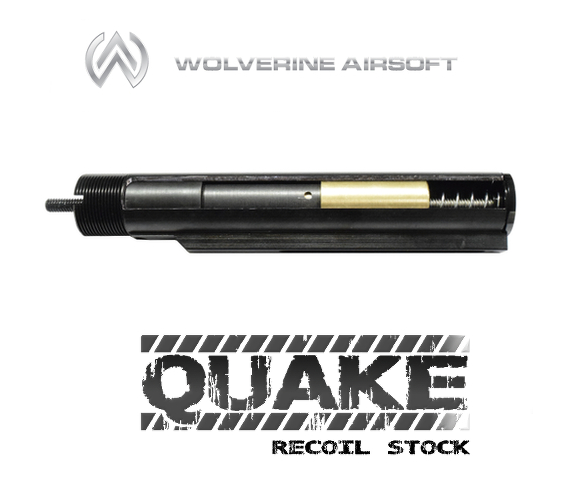 Wolverine Quake HPA Recoil Stock for M4 (Stock / w/ board)