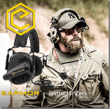 EARMOR M32 MOD3 TACTICAL HEADSET (Black / TAN)