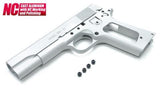 Guarder Aluminum Slide & Frame for TM M1911A1 - Colt (Silver)