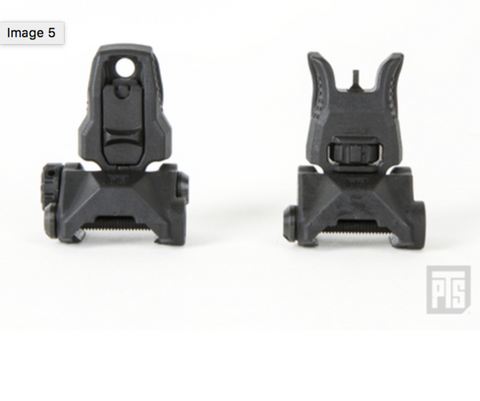 PTS Enhanced Polymer Back-up Iron Sights (EPBUIS)