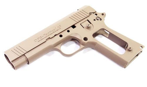 Guarder Aluminum Slide & Frame for MARUI Desert Warrior 4.3 (TAN)