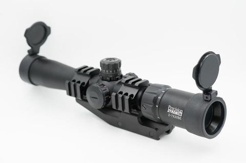 Precision Dynamics 2-7x32 Illuminated Scope w/ Cantilever Mount