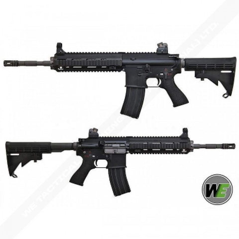 WE HK416 888 GBBR (Black / Tan)