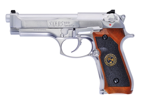 WE M92 Biohazard Silver Edition
