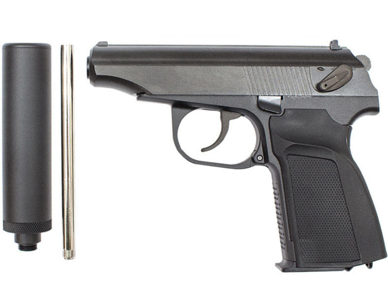 WE Makarov GBB Pistol (Black)