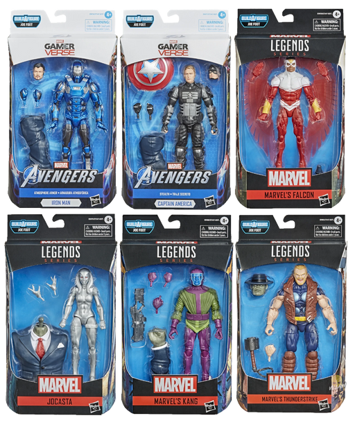 Marvel's Avengers Marvel Legends Wave 1 Set of 6 Figures (Joe Fixit BAF)