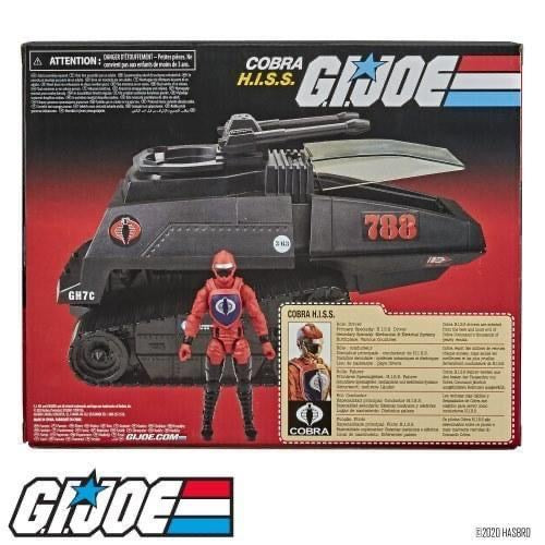G.I. Joe Retro Collection Cobra H.I.S.S. Toy Vehicle with 3.75-In Figure  - Pre Order Please see notes