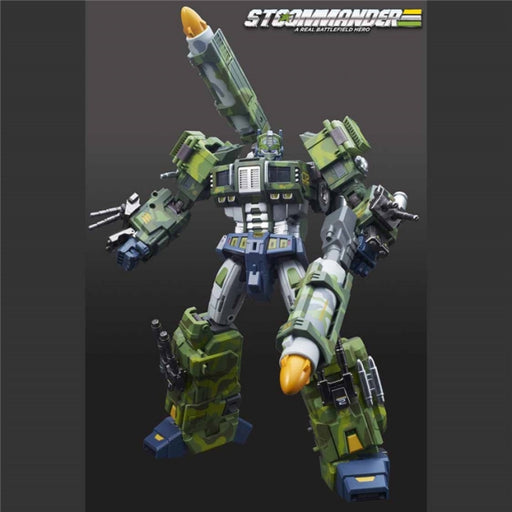 Supreme Techtial Commander Optimus Prime Nuclear Blast Version