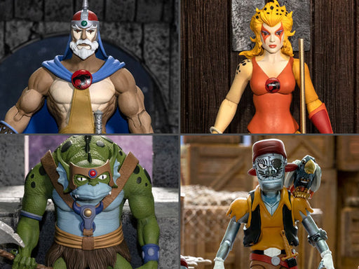 ThunderCats Ultimates Wave 3 Set of 4 Figures