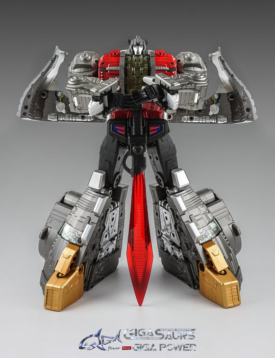 GIGAPOWER - GIGASAURS - HQ-04 GRAVITER - METALLIC VERSION