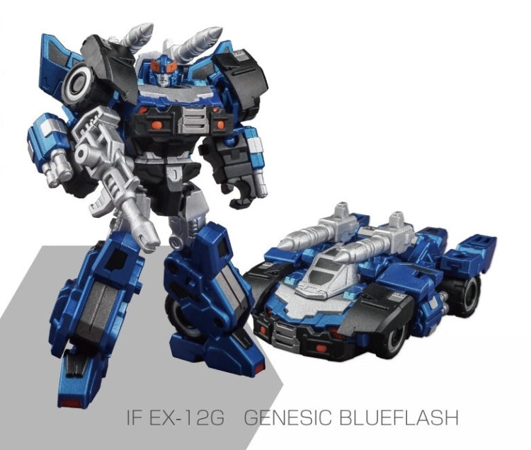 IRON FACTORY - IF-EX12G BLUE FLASH