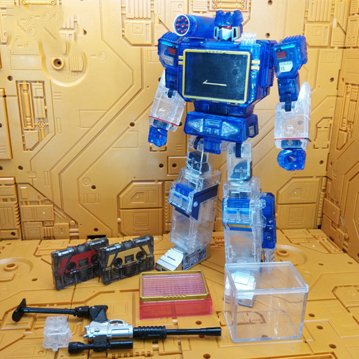 Toy House Factory - THF-01T - Clear MP13 (Include 2 Tapes)/3rd Party Soundwave