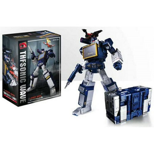 TOY HOUSE FACTORY MP13 SOUNDWAVE THF-01J WITH LASERBEAK