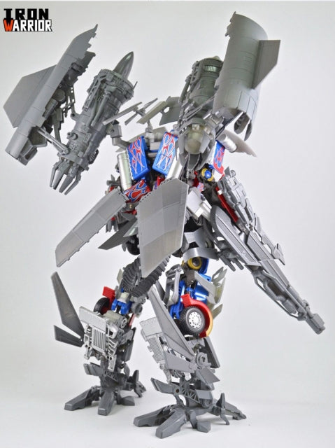 Iron Warrior IW-2.0 Jetpower Armor Upgrade Kit for MPM-4 Optimus Prime