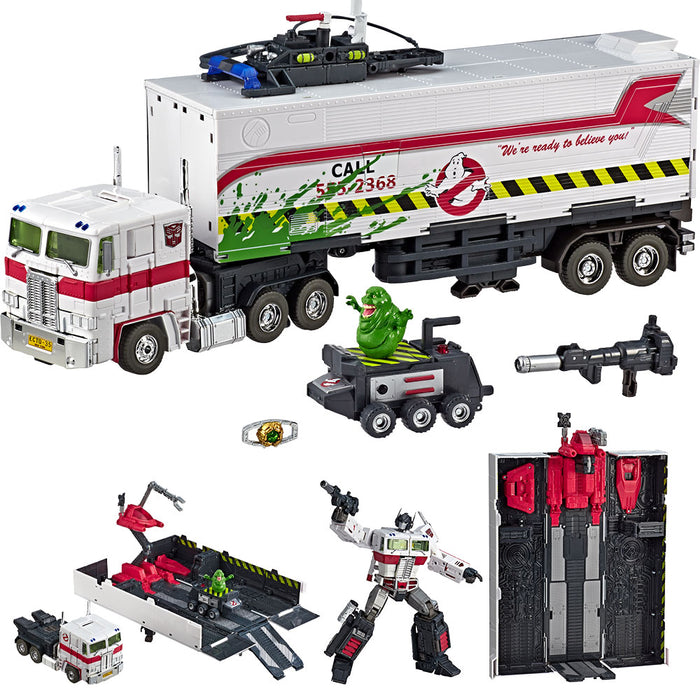 TRANSFORMERS Masterpiece Ghostbusters MP-10G OPTIMUS PRIME ECTO-35