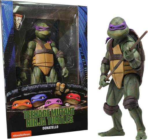 "NECA Teenage Mutant Ninja Turtles – 7"" Scale Action Figure –Donatello"