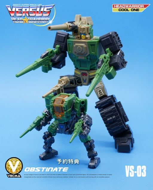 MechFansToys VECMA Toys VS03 Obstinate Hardhead