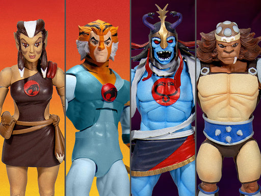 ThunderCats Ultimates Wave 2 Set of 4 Figures
