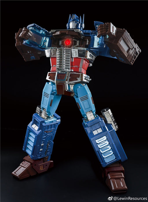 Lewin Resources LW-01A LW01A MP-10 MP10 Optimus Prime OP Captain America Style Oversized 71cm w/ LED