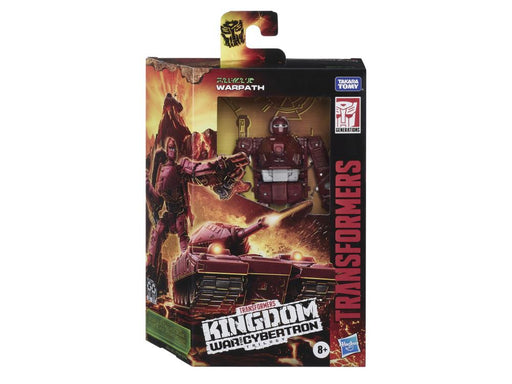 Transformers War for Cybertron: Kingdom Deluxe Warpath