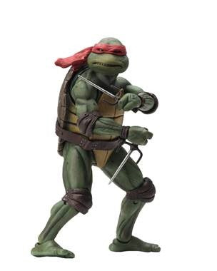 "NECA Teenage Mutant Ninja Turtles – 7"" Scale Action Figure – Raphael."