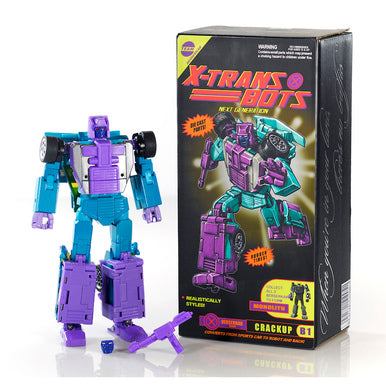 X-TRANSBOTS MX-13 G2 CRACKUP EXCLUSIVE - (BERSERKARS TEAM FORM MONOLITH )