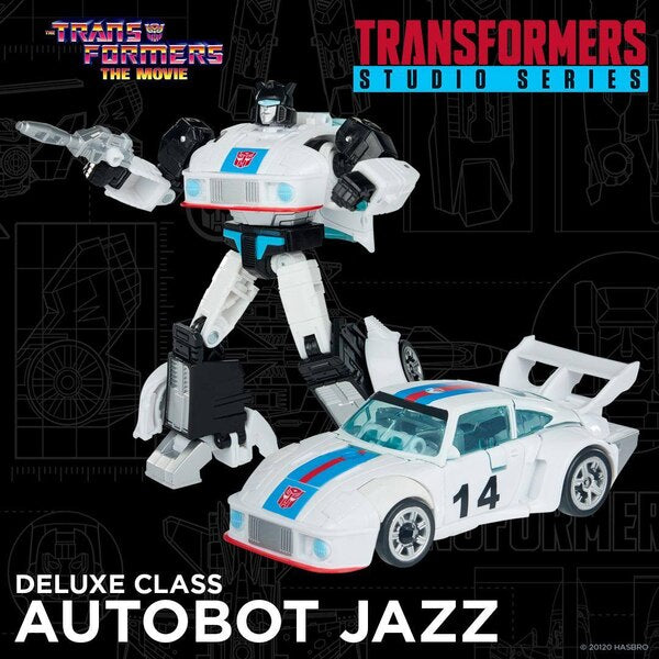 Transformers Studio Series 86-01 Deluxe Jazz