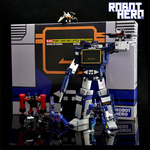 Robot Hero - SG-01 - KO MP13 - Six tape/3rd Party Soundwave