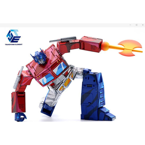 Transform Element TE-01C Optimus Prime Cell Shaded Version - Limited Numbers