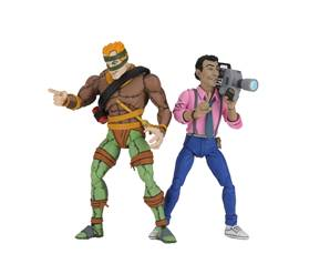 "Teenage Mutant Ninja Turtles (Cartoon) – 7"" Scale Action Figure – Rat King & Vernon 2 pack"