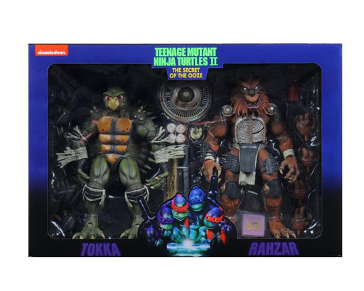 "Teenage Mutant Ninja Turtles (1990 Movie) -7"" Scale-Action Figure – Tokka & Rahza 2 Pack - Australian Market Only"