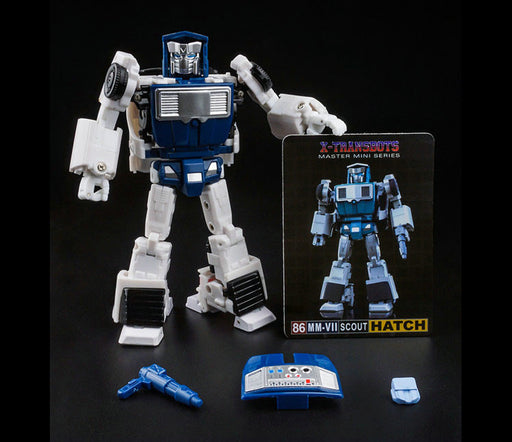 X-TRANSBOTS MM-VII HATCH (CARTOON VERSION)