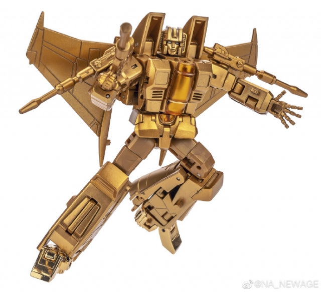 NewAge H15G Lucifer Starscream Gold version