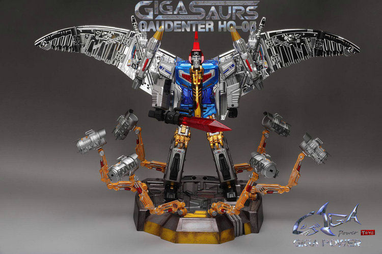 GigaPower GP HQ-05 Gaudenter Blue Chrome Version/3rd Party Swoop