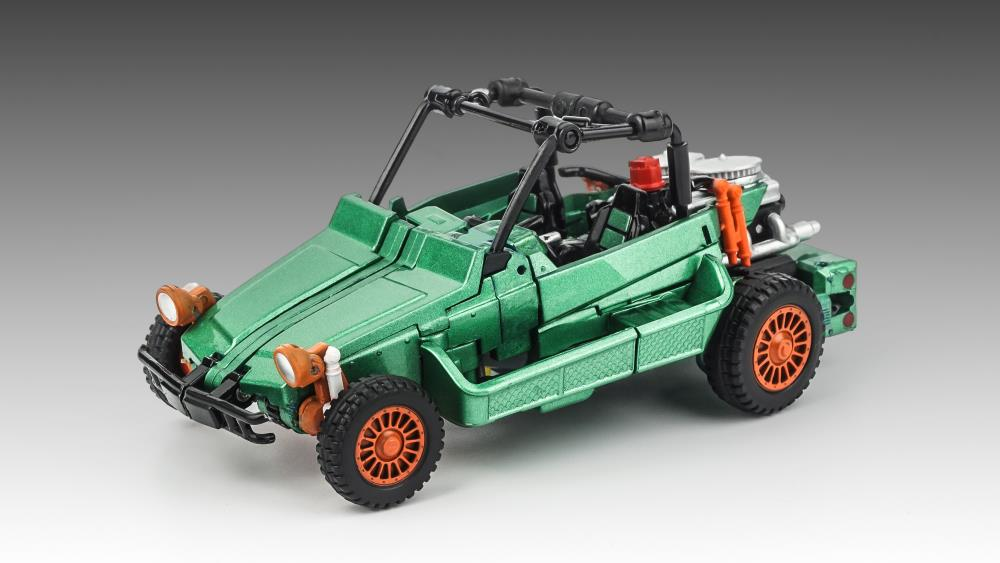 XTRANSBOTS - MASTER MINI MM-VIII ARKOSE GREEN VERSION/3rd Party Generation 2 Beachcomber