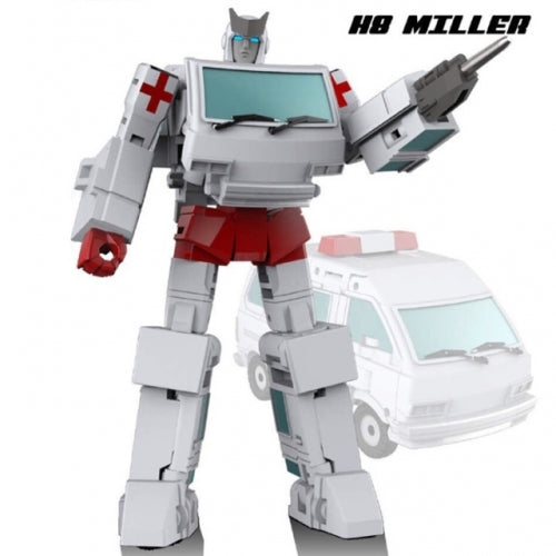 NewAge H8 Miller/3rd Party Ratchet