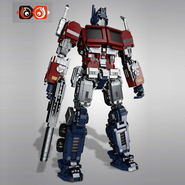 Label 66 Bricks Build - No. 661 Optimus Mar/ Bumblebee movie Optimus Prime