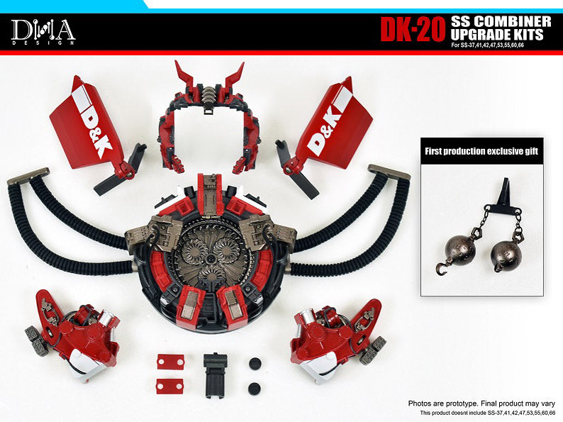 DNA DESIGN DK-20 Studio Series SS COMBINER UPGRADE KIT - Pre order Deposit