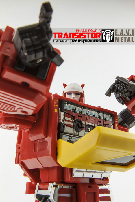 KFC - EAVI METAL Phase Four: A - Transistor Pure Red Color/3rd Party Blaster w/Hifi