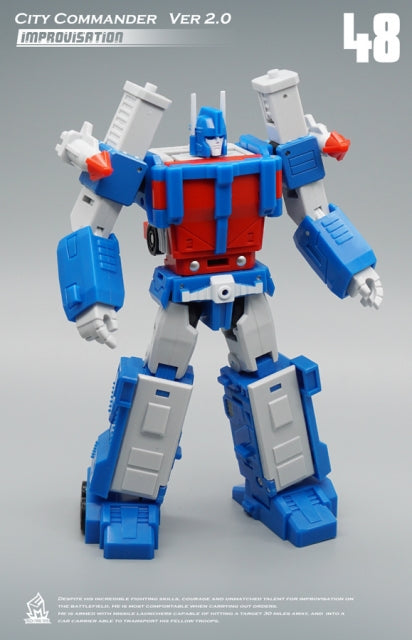 Mech Fans Toys MF-48City Commander Ultra Magnus Version 2.0