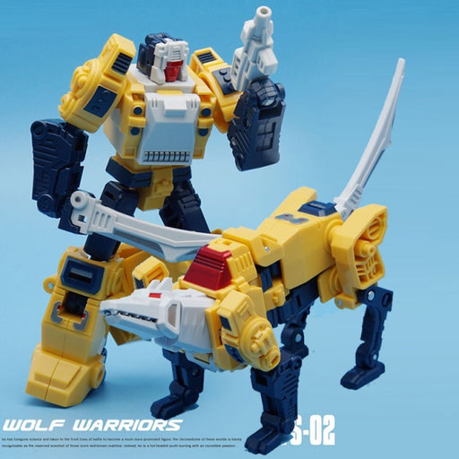 Mechfanstoys Vecma toys VS02 Wolf Weirdwolf