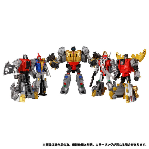 TRANSFORMERS GENERATIONS SELECTS VOLCANICUS SET OF 5 | TAKARA TOMY MALL EXCLUSIVE - Pre Order Deposit Only